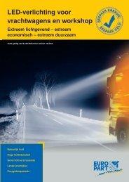 LED-verlichting voor vrachtwagens en workshop - EUROPART ...