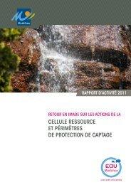 Rapport d'activité 2011 - Conseil général du Morbihan