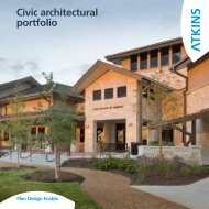 Civic architectural portfolio - Atkins North America