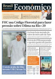 FHC usa Código Florestal para fazer pressão ... - Brasil Econômico