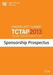 18th APRIL 23-26, 2013 - Summit-tctap.com