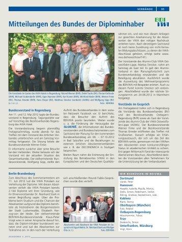 Mitteilungen 3/2012 - BDIVWA