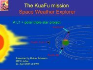 The KuaFu mission Space Weather Explorer