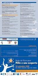 Programma degli eventi di Bari - ARTI Puglia