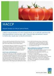 Flyer HACCP - DNV Business Assurance