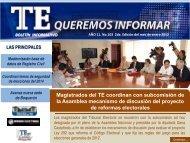 II edición - Tribunal Electoral