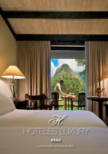 LOS MEJORES HOTELES DE PERÚ - Cenfotur