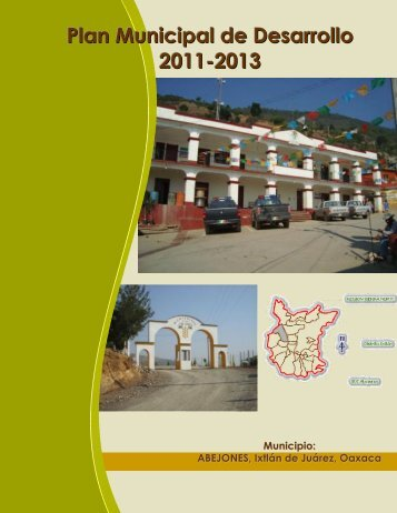 Plan Municipal de Abejones - Secretaria de Finanzas