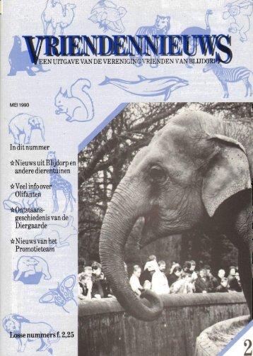 1990-12-02 - Vrienden van Blijdorp