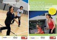 South Somerset Badminton Social Series Get in ... - Zing Somerset