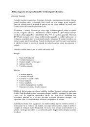 Ghid diagnostic si terapie al nodulilor tiroidieni - Spitalul Clinic ...