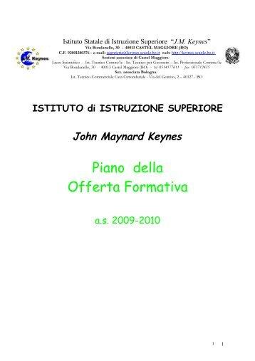 Piano della Offerta Formativa - Keynes - Scuole.bo.it