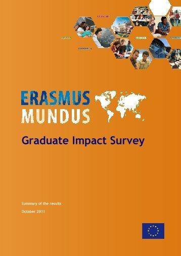 Download the survey results of 2010-2011 - Erasmus Mundus ...
