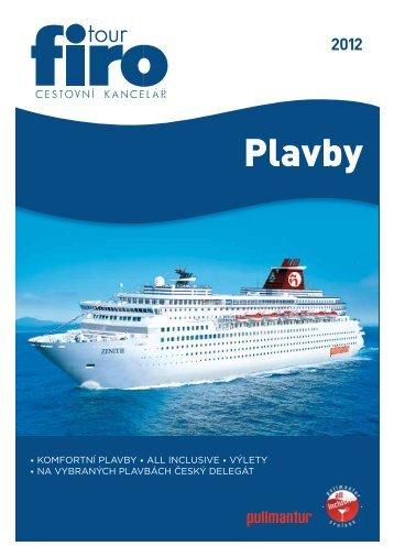 Plavby - FIRO-tour, a.s.