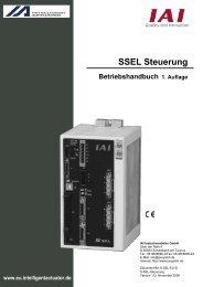 Betriebshandbuch 1. Auflage SSEL Steuerung - IGAS