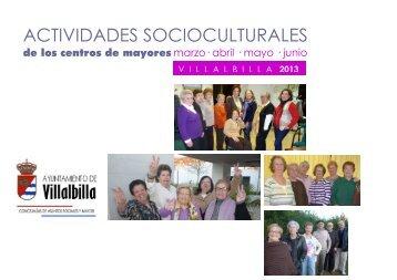 En los Centros de Mayores - Ayuntamiento Villalbilla