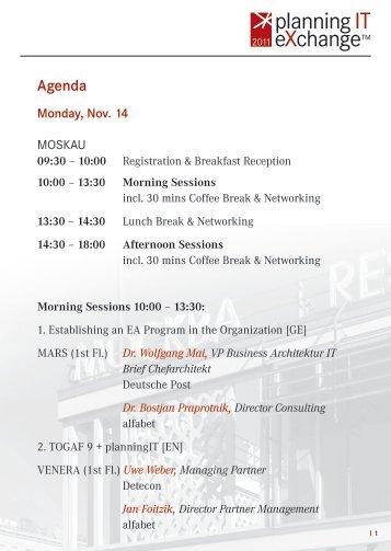 Agenda - Alfabet