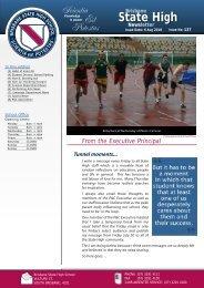 Issue No - Brisbane State High School