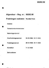 Reg. nr.: 00282.00 Fredningen vedrører: Randbøl ... - Naturstyrelsen