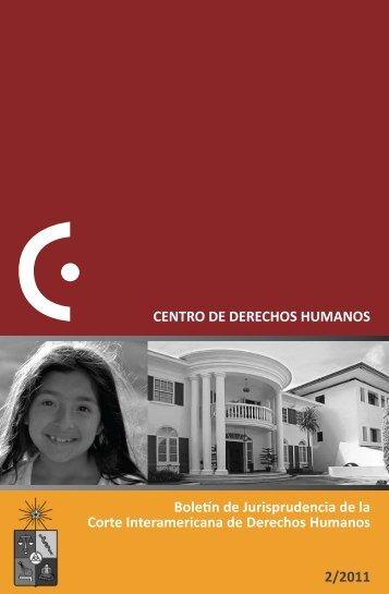 Boletín de Jurisprudencia de la Corte Interamericana de Derechos ...