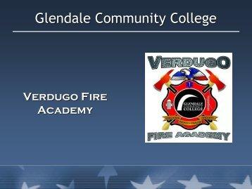 Firefighter Down Procedures - Glendale Community College