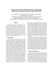 Hieratchical Bag-of-Words coding models - ETIS - ENSEA