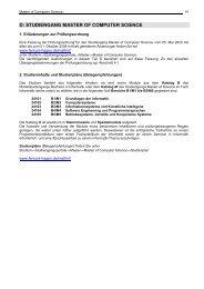 Prüfungsinformationen Nr.1 - FernUniversität in Hagen