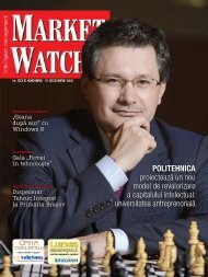 Noiembrie - Decembrie 2012 [Nr. 150] - Market Watch