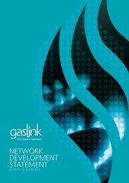 Network Development Statement 2010/11 to 2019/20 - Gaslink