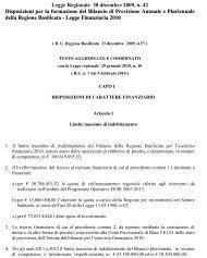 Legge Regionale 30 dicembre 2009, n - Precedente versione del sito