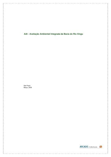 AAI - Avaliação Ambiental Integrada da Bacia do Rio Xingu