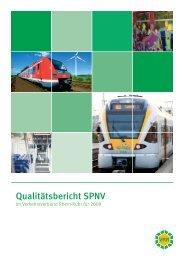 Qualitätsbericht SPNV