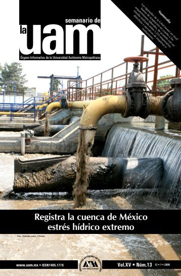 Registra la cuenca de México estrés hídrico extremo - UAM ...