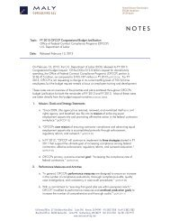 Notes of OFCCP Fiscal Year 2013 Budget Request - Maly ...