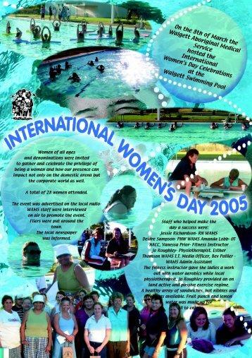 International Women's Day - WAMS