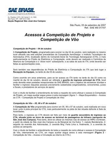 Acesso a Competição - UFSC Aerodesign