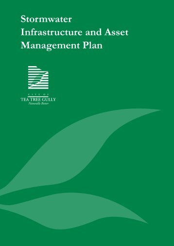 Stormwater Asset Management Plan - City of Tea Tree Gully - SA ...