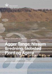 Agger Tange, Nissum Bredning, Skibsted Fjord og ... - Naturstyrelsen