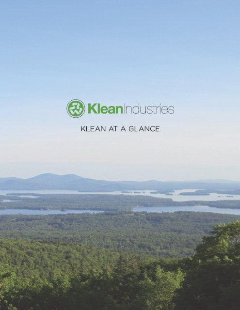 Klean Industries Inc. - Biomass Energy