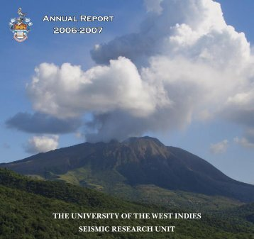 Seismic Research Unit 2006/2007 Annual Report - The University of ...