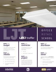 CO1073 – LJT LED Troffer with Advanced Solid State Technology