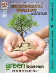 Youth Workshop Overview & Application Form - Environmental ...