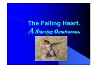 The Failing Heart Astarving Omnivorous.