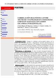 correlación diagnóstica entre técnicos y patólogos en citologías ...