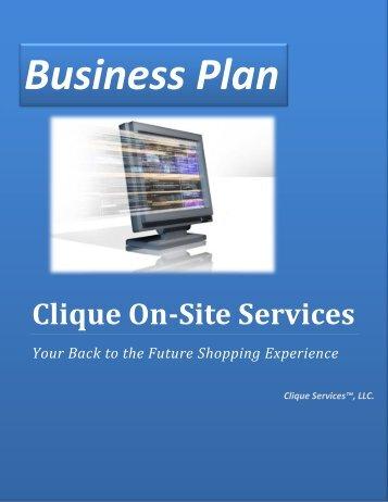 Clique On-Site Services - Bplanning.com