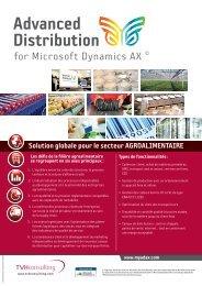 Solution globale pour le secteur ... - TVH Consulting