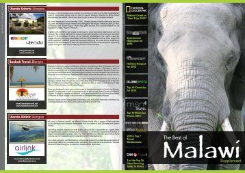 clicking here. - Malawi Tourism