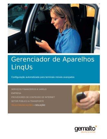 Gerenciador de Aparelhos LinqUs Brochure - Gemalto
