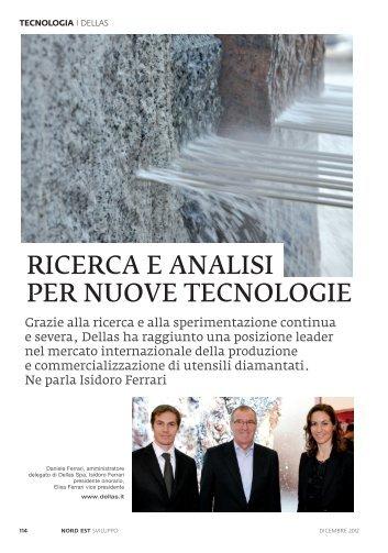 2012-12 - CS - Ricerca e analisi per nuove tecnologie - Dellas