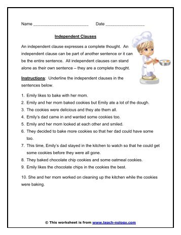 The Adjective Clause Worksheet - Teach-nology